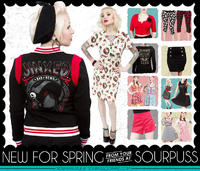 Sourpuss Clothing's My Closet Lookbook photos