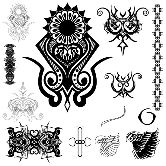 tribal tattoo music. tattoo.