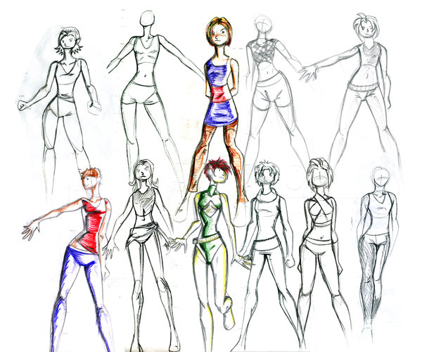 How To Do Fashion Design Sketches How To Become A Fashion