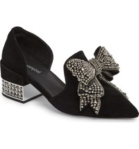 Jeffrey Campbell Valenti Embellished Bow Loafer (Women) | Nordstrom