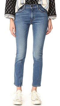 Levi's 505 C Cropped Slim Straight Jeans | SHOPBOP
