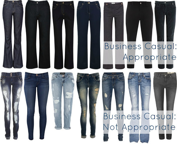 Wearing Jeans To Work - Fashion News and Blog