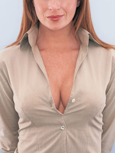distracting breasts in the workplace