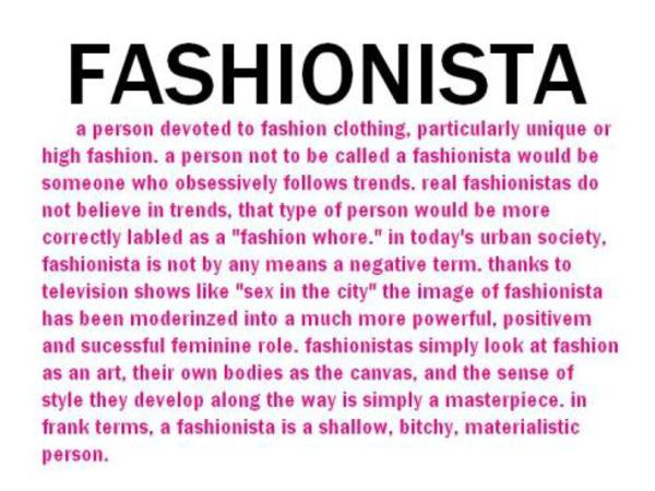 Define The Word Fashion Designer