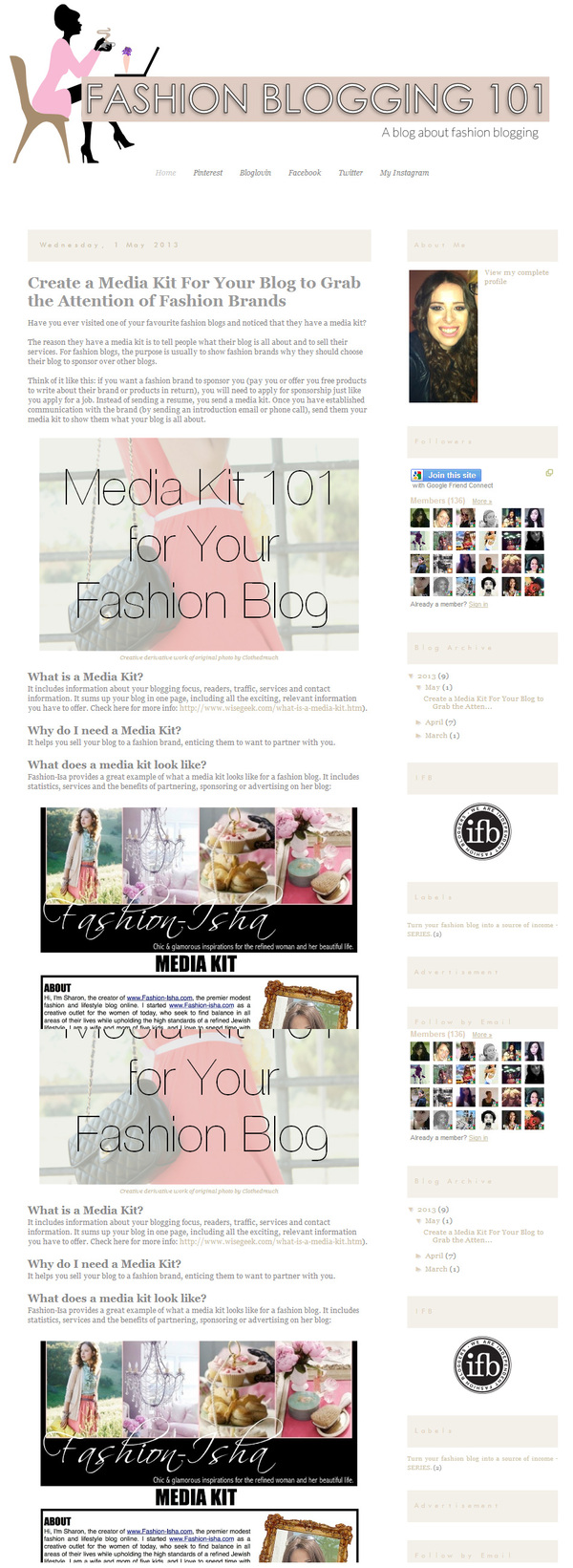 fashion blogging 101: how to make profit from your passion for fashion